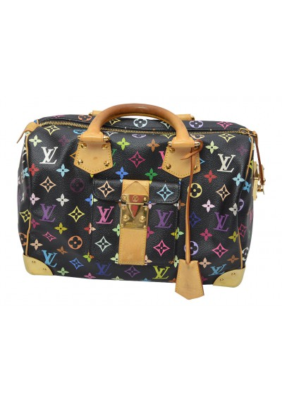 Louis Vuitton schwarze Multicolor Handtasche