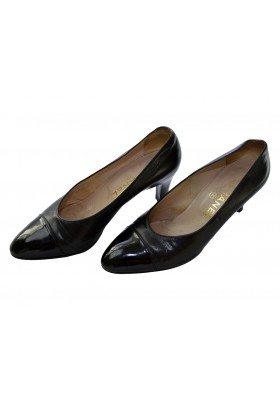 Chanel Pumps schwarz